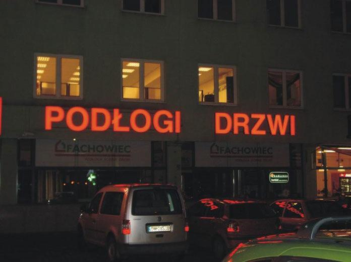 Litery podświetlane Wrocław